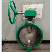 DEMCO NE-D WAFER TYPE WORM GEAR OPERATED BUTTERFLY VALVE DN50-DN300/ALUMINIUM ALLLOY BODY BUTTERFLY VALVE