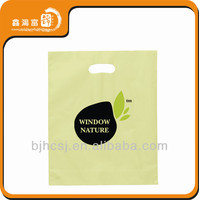 die cut clothing plastic bags for packaging