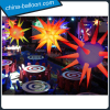 Unique shape inflatable led planet hanging inflatable lighting planet colorful inflatable star