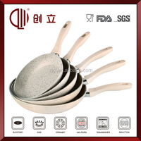 Marble Coating Happy Call Double Sided Frying Pan CL-F169