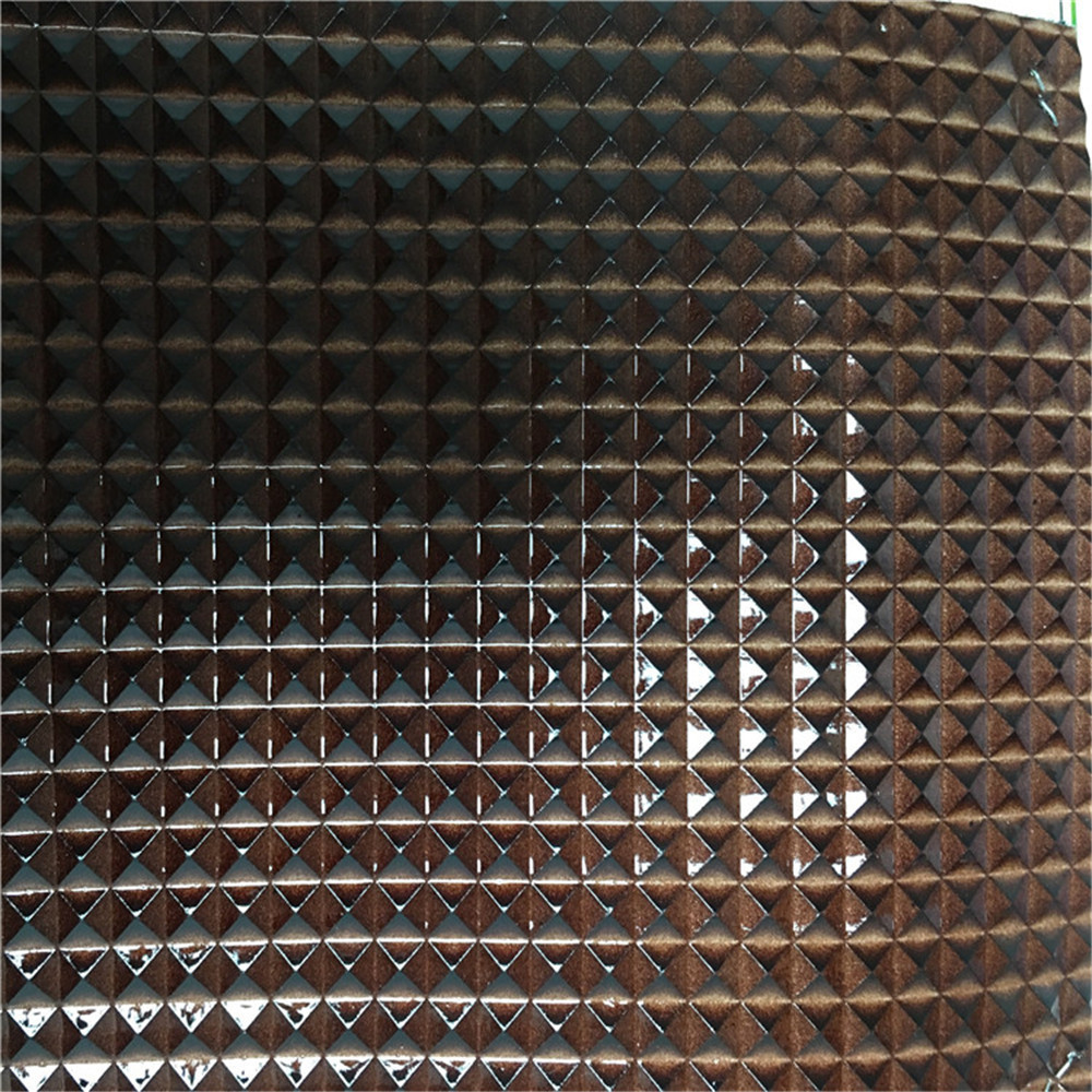 Small order woven backside technics high quality glossy pvc <strong>leather</strong> malaysia