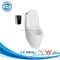 Hands-free & reliable sensor flush valve for disabled toilet seat