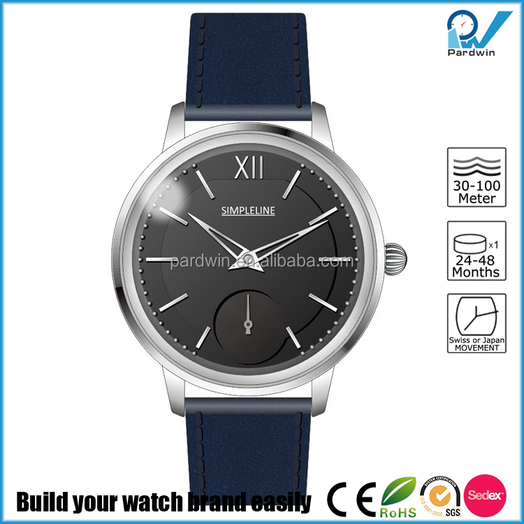 Stainless Steel Case Multi-layered dial dress watch with custom glass Mens Wrist Watches Men Luxury Automatic