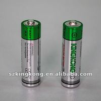 LR6 size AA 1.5 dry Alkaline Battery 1.5V Dry Battery Blister card packing Outperforms