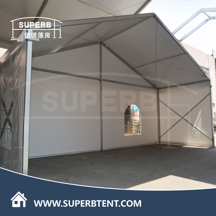 8x8m Outdoor White PVC fabric Aluminum Frame MoveableTension Losberger Wedding Marquee Party Tents for Events Sale