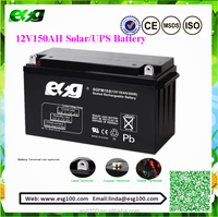 12V150AH mf sla battery for ups / 12v 150ah solar battery /agm battery
