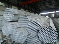 hot dipped 48.3mm galvanized steel round pipe for sale