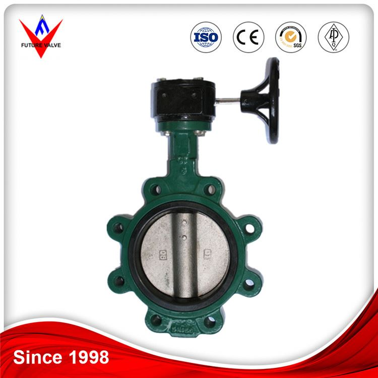 low pressure lug wafer type butterfly valve