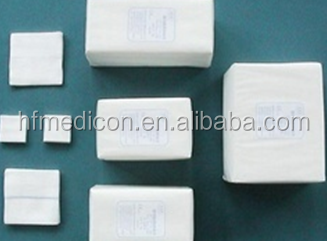 Hot Sale Disposable Medical Products Non-Woven Gauze Swab