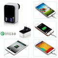 2 port qualcomm quick charge 2.0 / 3.0, 23W Qualcomm Quick Charge 3.0 Charger KC charger