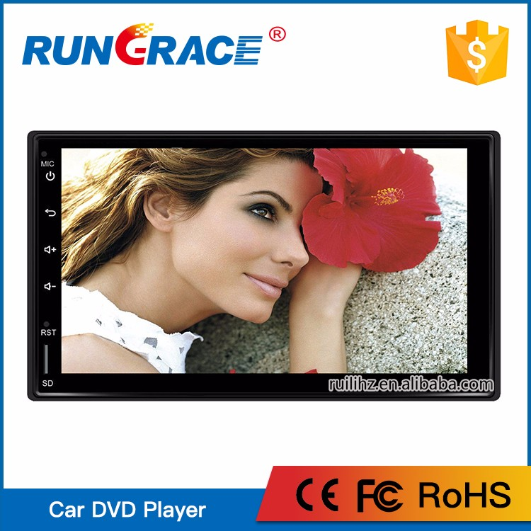 Hottest Top Quality RUNGRACE audio stereo gps navigation car radio 2 din for opel zafira