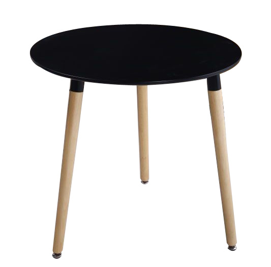wholesale popular modern design round wood legs coffee dining <strong>table</strong>