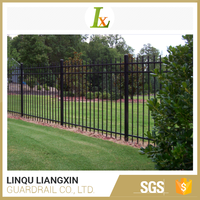 Export Oriented Factory Wall Strong Customizability Palisade Fencing Prices