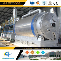 Star Products Pyrolysis Tyres/Plastic/rubber Waste to Energy Power Generation System