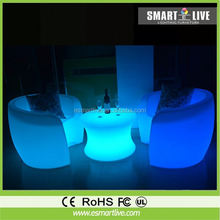 wireless led light chair Japanese Style Sofa remote control for decoration hot selling products for 2012