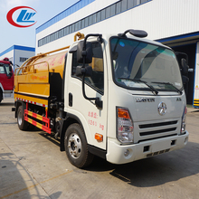 CHINA 4*2 6CBM Lifting Tank Sewage Suction High Pressure Washing Truck