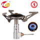 KLTE Portable Camping Gas Stove Parts Mini Gas Stove