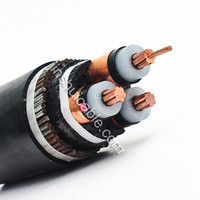 Rated voltage 0.6/1kV AL/CU conductor 4 core 25mm XLPE insulated steel wire armored power cable