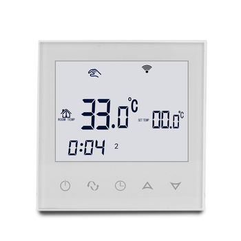 Household weekly programmable thermostat touch screen Floor heating digital thermostat for floor heating cable