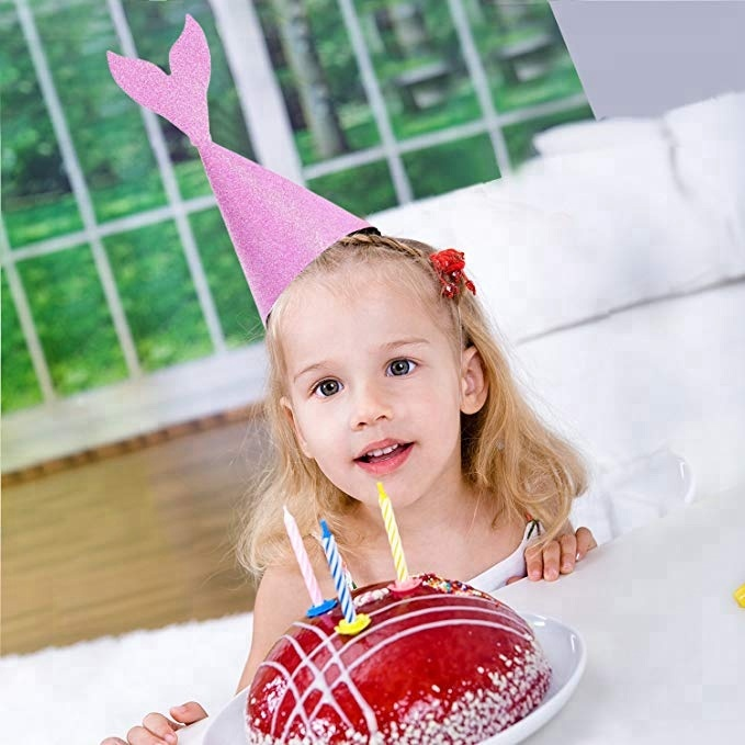 Premium quality DIY mermaid party birthday <strong>crown</strong> for party decoration with ropes