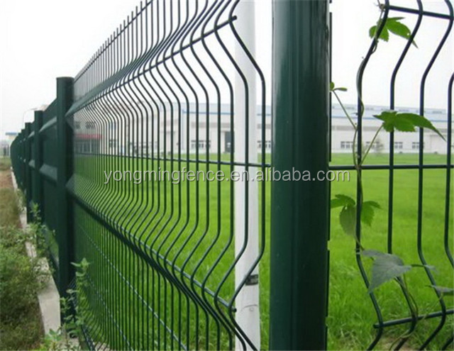 widely used metal safety fencing / wire mesh fencing