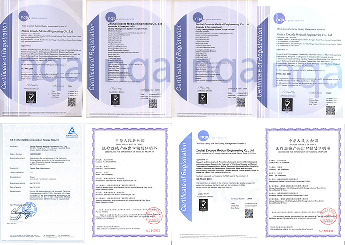 China manufacturer IVD diagnosis HIV test kit