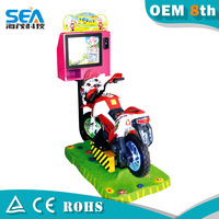 Hot sale kids moto racing game machine/coin operated super moto bike racing games