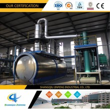 Vacuum Oil Distillation Plant For Base Oil Recycling