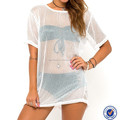 Boxy Fit Summer Casual Dress Ladies Beach Cover Up