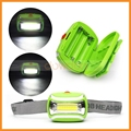 Cheap Price Multi Color COB Led Fishing Mining Lightweight Led Headlamp By AAA Battery