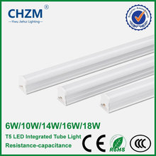 AC170-240V led T5 6W/10W/14W/16W/18W light for indoor lighting