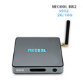 MECOOL BB2 Android TV Box 2G 16G Amlogic S912 Octa Core 4K H.265 Decoding 2.4G+5G Dual Band WiFi Bluetooth KD 17.0 Player