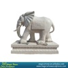 Garden natural stone elephant statues