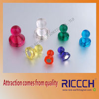 Quartet Magnetic Push Pins for Magnetic Planning Boards