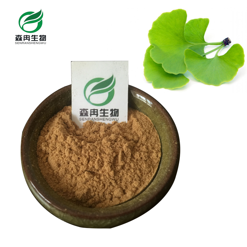 SR Best Price Natural Ginkgo Biloba Extract / 24.0%flavones 6.0% Lactones / ginkgo Biloba Extract 24/6