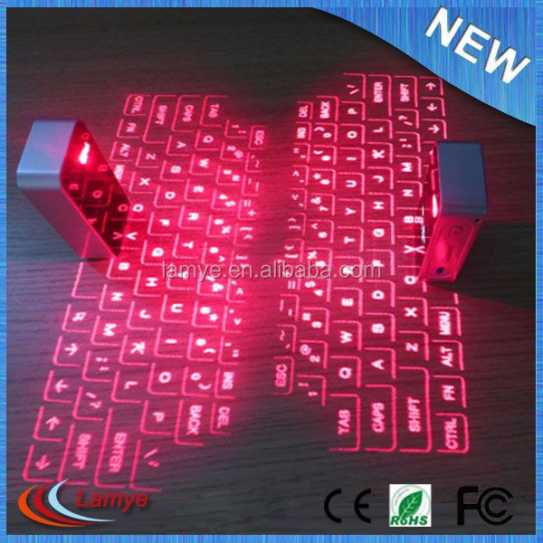 New Technology Products for Wireless Virtual Laser Keyboard Bluetooth for iPhone for Mobile Phone
