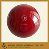 Resin red SF bowling ball