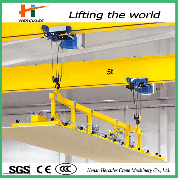5 ton overhead crane with trolley tools used for workshop