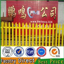 Hot sale 2.4m palisade security fence / W and D pale palisade fence/Hot dip galvanized palisade fence
