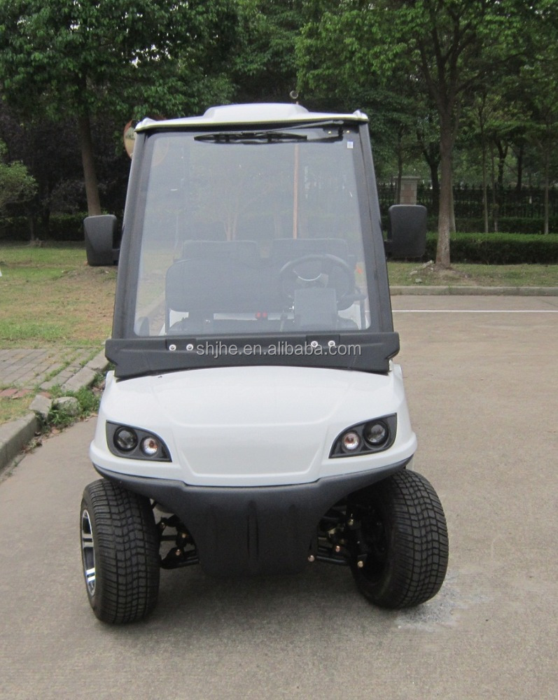 Cheap 2 seater electric golf cart for sale with ce for Motorized carts for sale