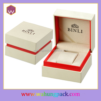 Personalized Leather Sport Watch Storage Box & Elegant White Watches Display Box Case(WH-1044)