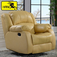 electronic recliner massage sectional sofa
