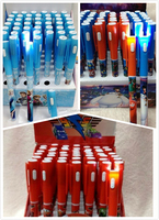 TF-04150725005 2015 children's cartoon ball pen frozen ball pen big hero ball pen cars ball pen