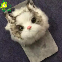 Unique Lifelike Cat Mobile Phone Cover wholesale