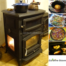 Indoor Wholesale Durable Cast Iron Wood Burning Stove Wood Oven Stove