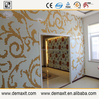asian tree branch mural demax build glass mosaic tile