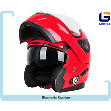 New Arrival DOT Standard Full Face Motorbike Helmets With Bulit In Intercom