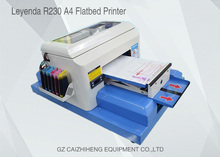 Leyenda A4 Small Size Eco solvent Ink Digital UV Flatbed Printer