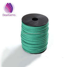 Wholesale 5mm flat faux suede leather cord for making bracelet and necklaces