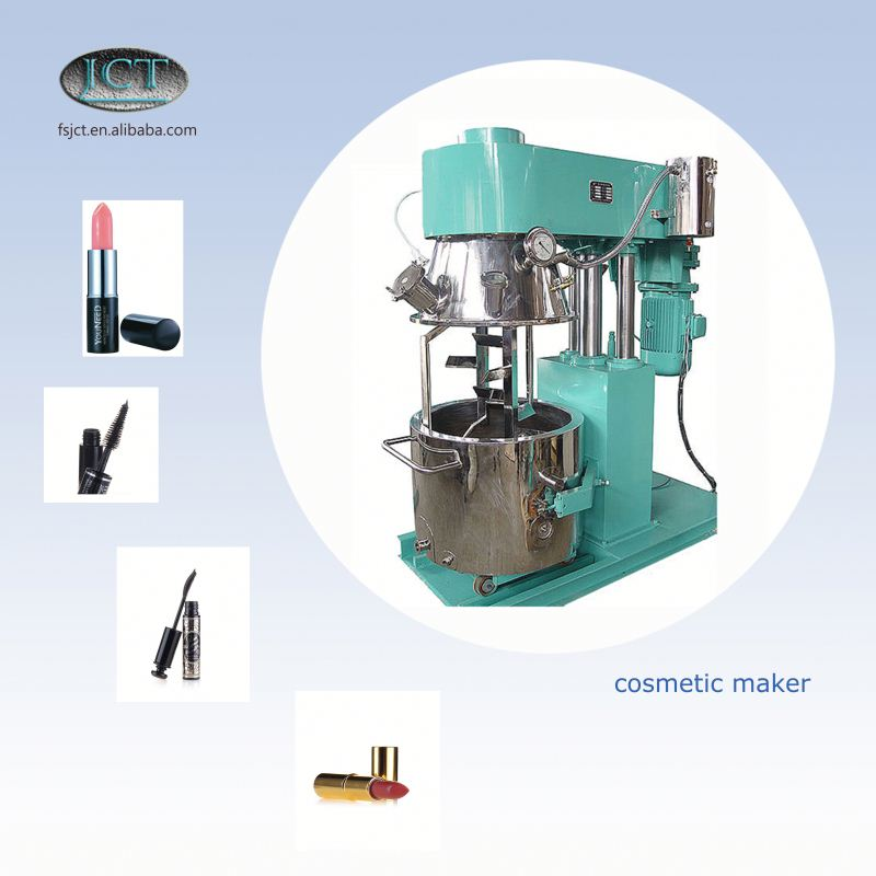 JCT golden girl cosmetic making planetary mixer